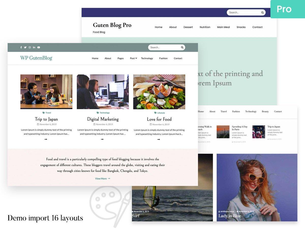 Guten Blog Pro
